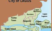 lagos nigeria map