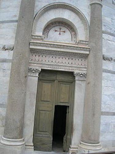 Leaning Tower of Pisa Door