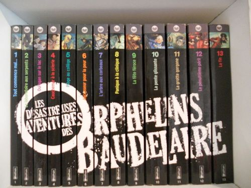Lemony Snicket Books in French