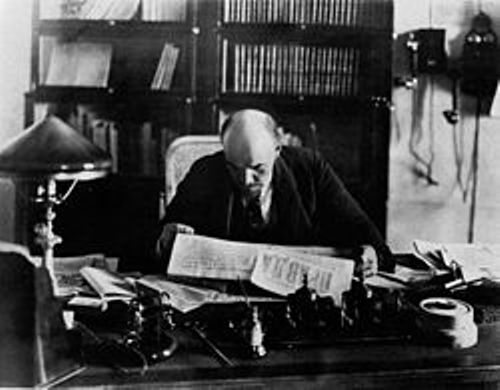 Lenin in 1918