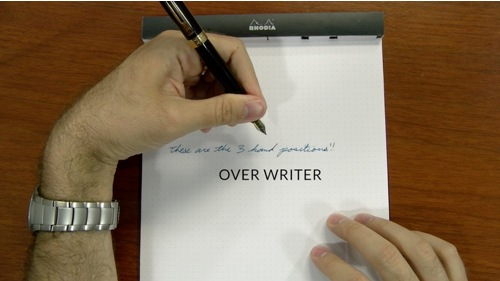 lefties writing