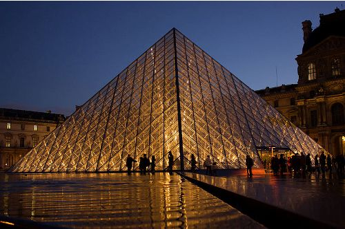 Facts about Louvre Pyramid