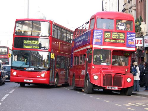 London Bus Pictures