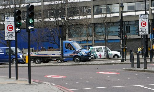 London Congestion Charge Image