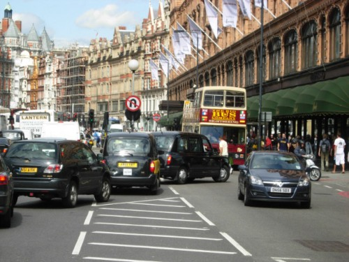 London Congestion Charge Pic