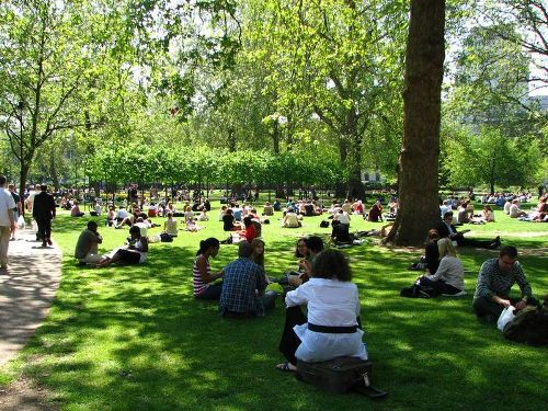 London England Summer