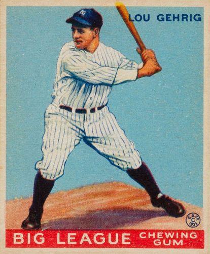 Lou Gehrig Image