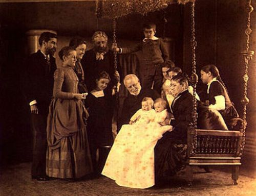 Louis Comfort Tiffany and Family