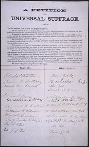 Lucy Stone Petition