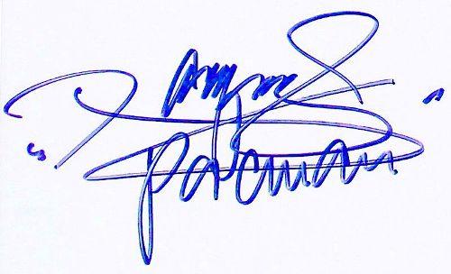 Manny Pacquiao Signature