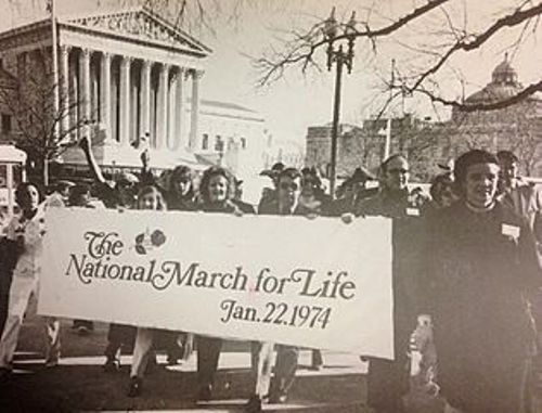 March for Life 1972