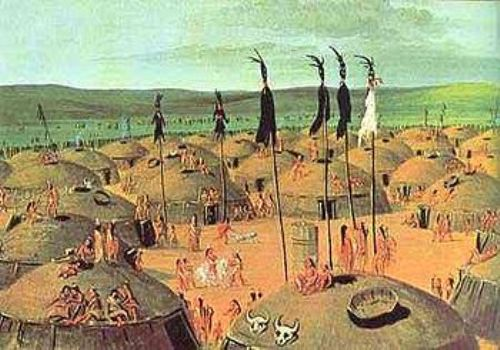 the Mandan Tribe Pic