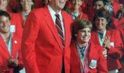 Mary Lou Retton and Reagan