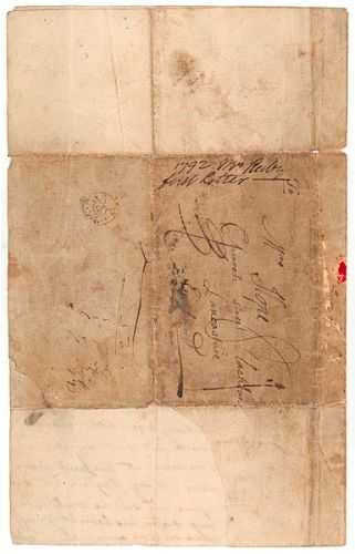 Mary Reibey Letter