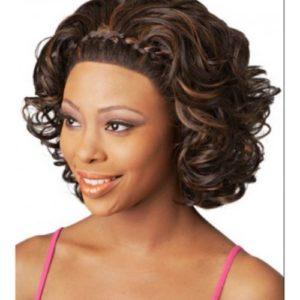 lace front wigs images