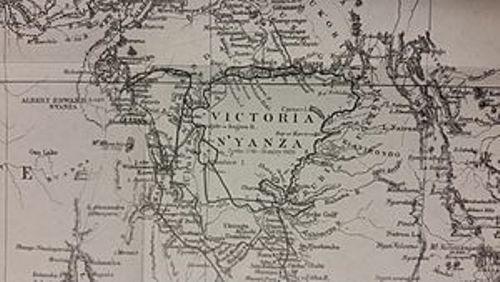 lake victoria map