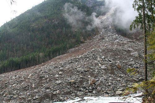 landslide pic