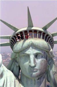 lady liberty top