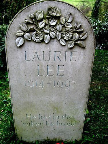 Laurie Lee Headstone