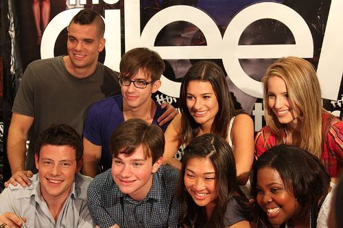 Lea Michele and Glee