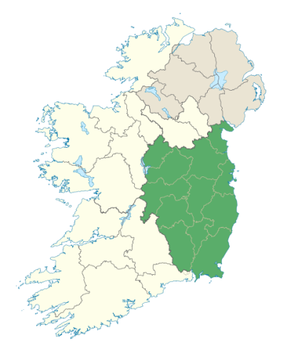 Leinster Map