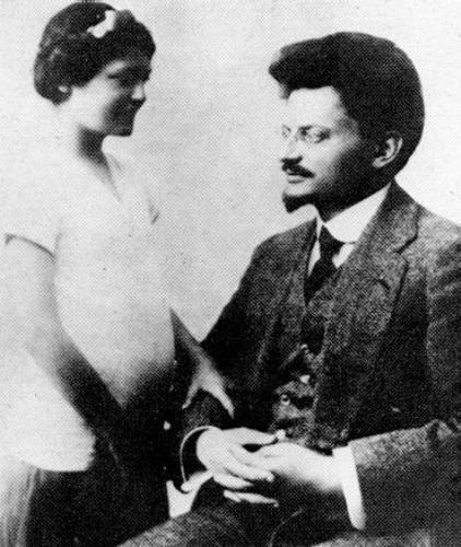 Leon Trotsky and Wife