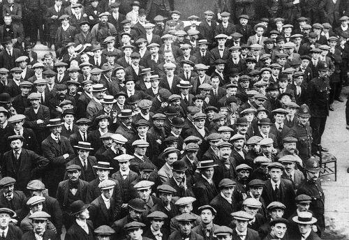 British recruits WW1
