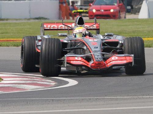 Lewis Hamilton in 2007