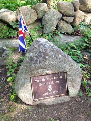 Lexington and Concord Grave