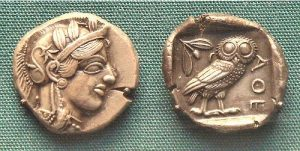 Life in Ancient Greece Coins