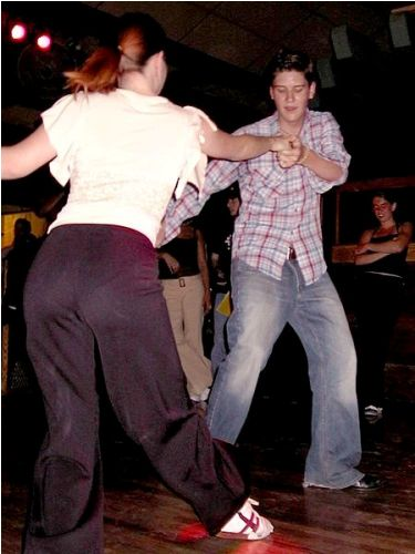 Lindy hop Swing