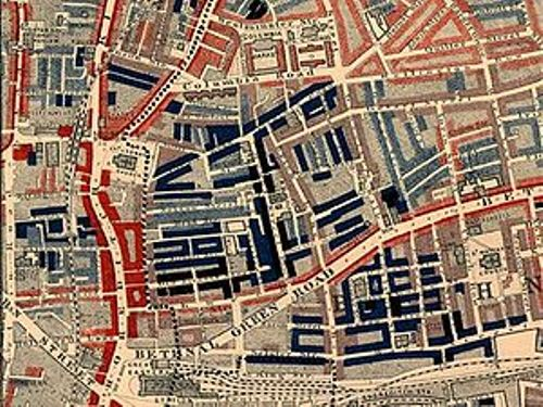 London in the 19th Century Map