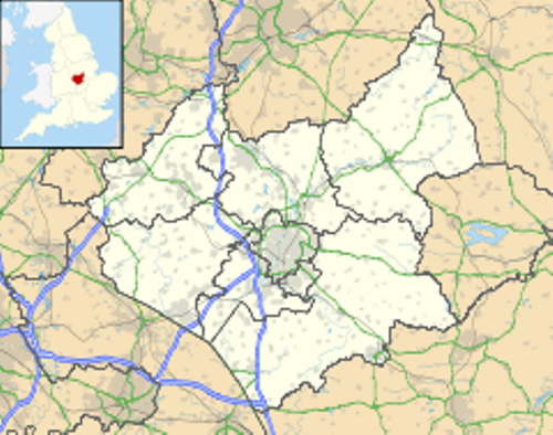 Loughborough Map