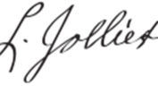 Louis Jolliet Signature