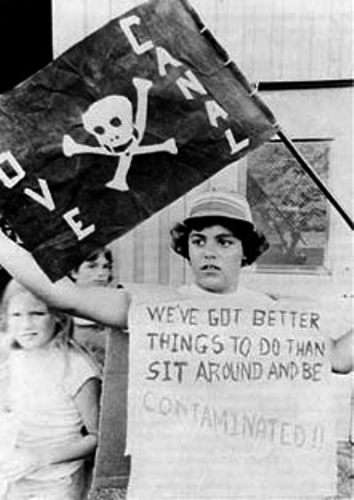 Love Canal Protest