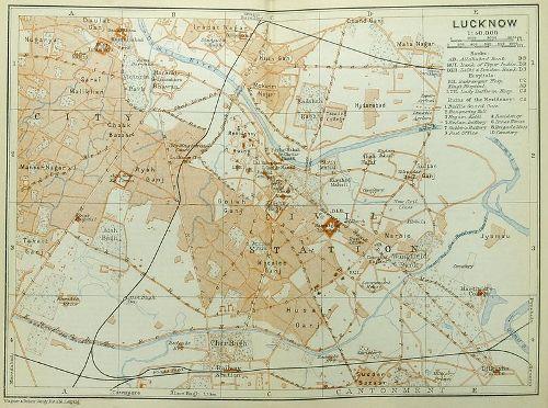 Lucknow 1914