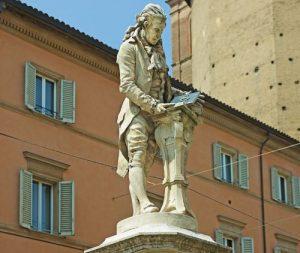 Luigi Galvani Statue