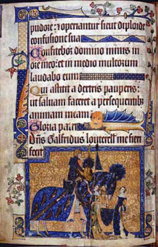Facts about Luttrell Psalter
