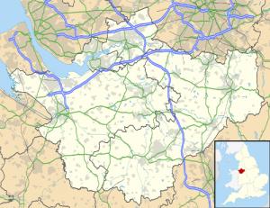Lymm Map