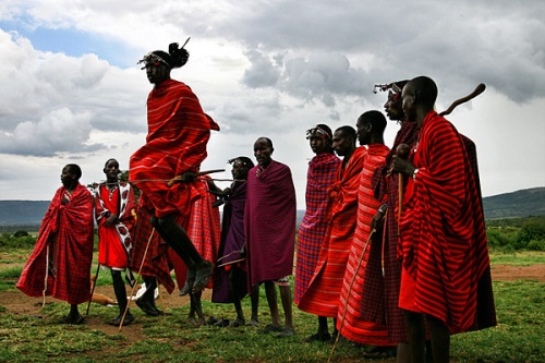 Maasai Tribe of Kenya Dance