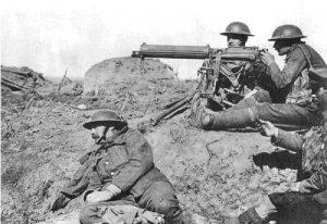 Machine Guns in WW1