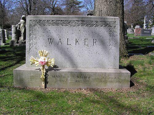 Madame CJ Walker Grave