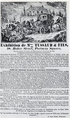 Madame Tussaud Facts