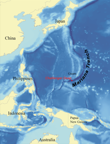 Facts about Mariana Trench