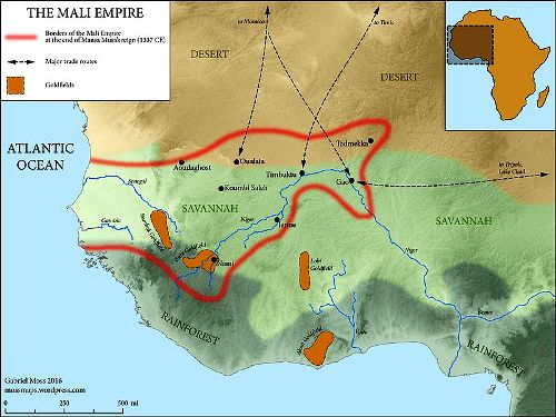 Mansa Musa Map