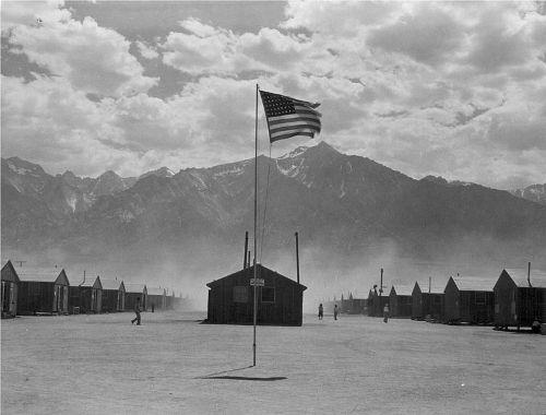 Manzanar Flag