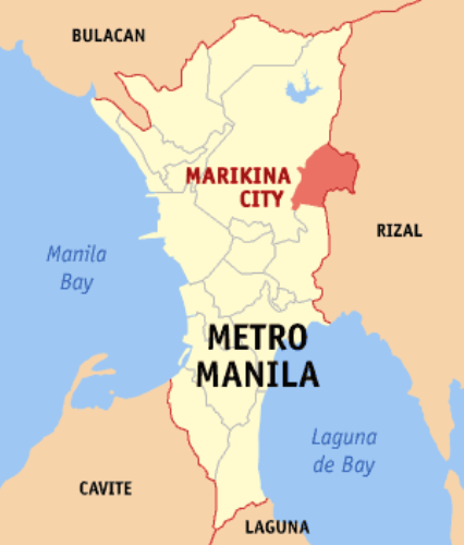 Marikina Map