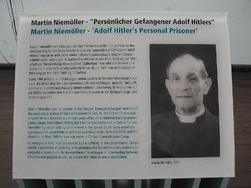 Facts about Martin Niemöller
