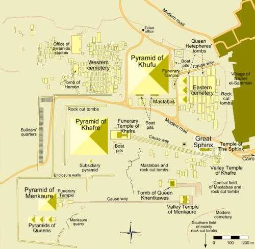 Mastaba Map