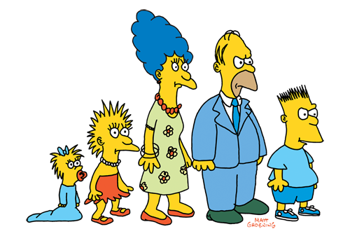 Matt Groening The Simpsons